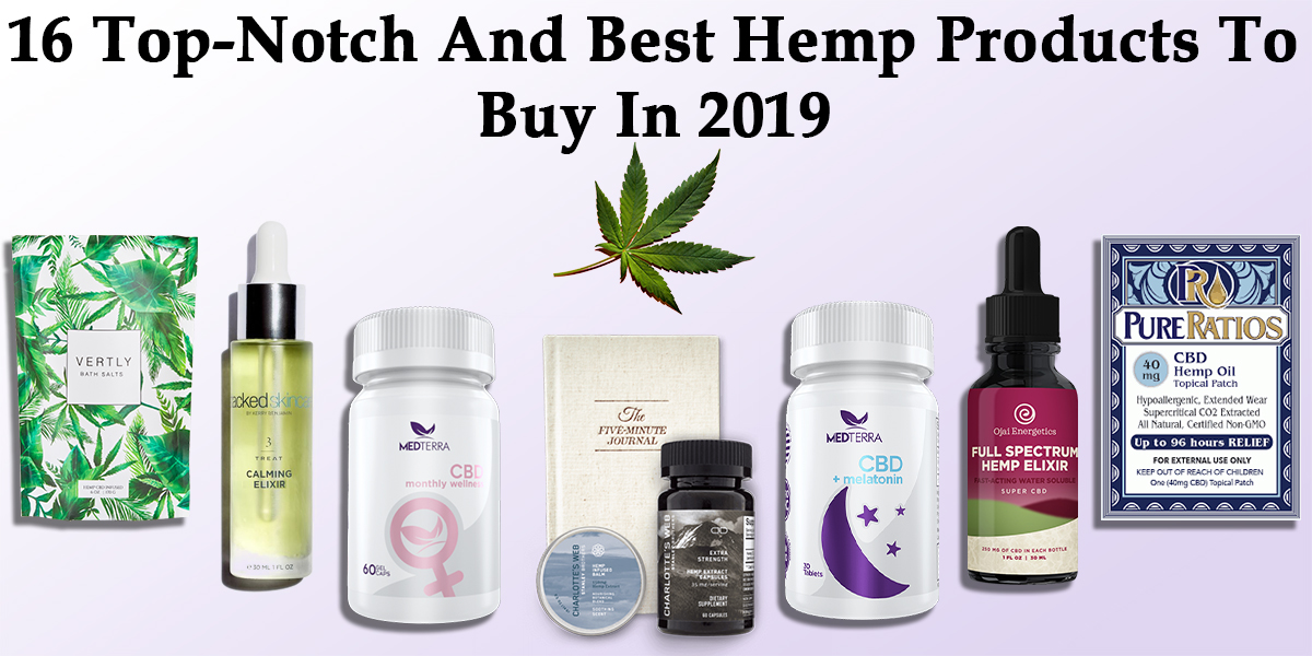 Featured Image of 16 Top-Notch And Best Hemp Products To Buy In 2019