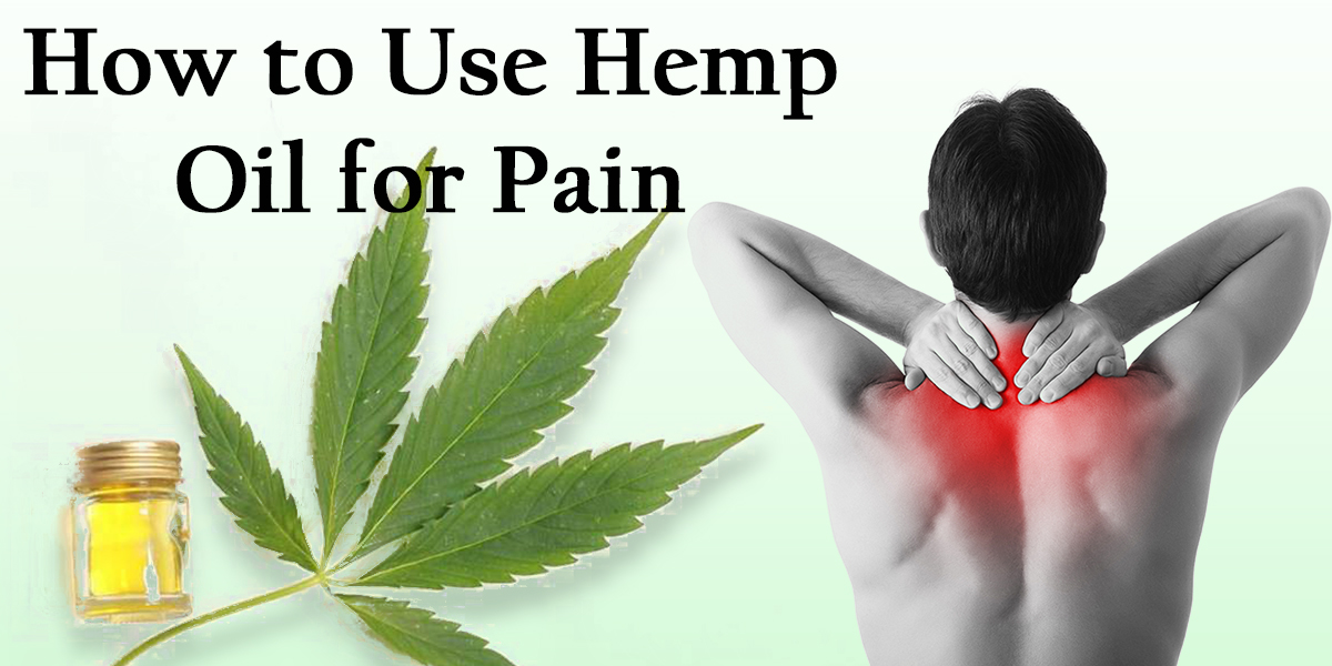 Featured Image of how to use hemp oil for pain